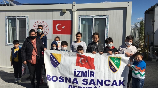 Minik Boşnak'lardan Depremzede Çocuklara Eğitim Seti
