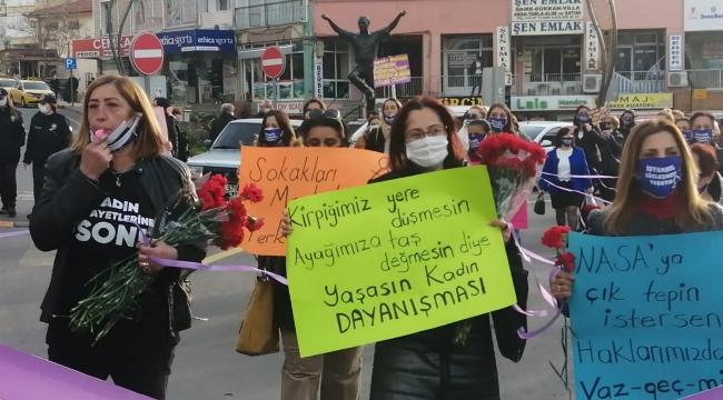 CHP Aliağa, İstanbul Sözleşmesi'nden çekilmesine tepki gösterdi