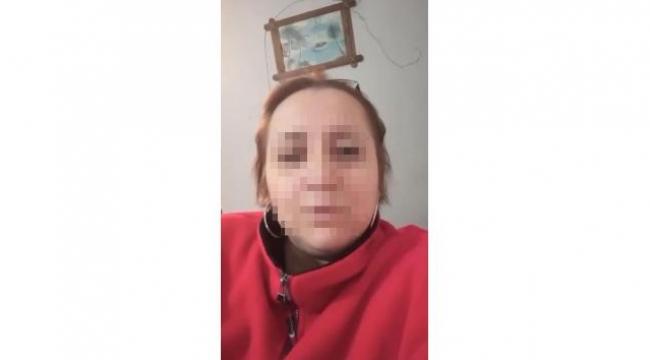 Suç makinesi kadın hastanede gözlem altına alındı