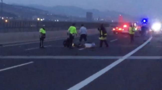 İzmir'de trafik kazası: 1 ölü, 1 yaralı