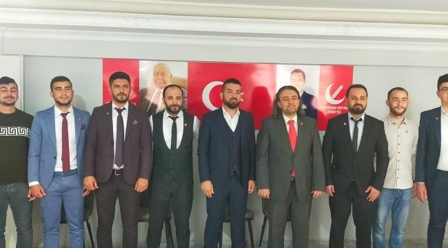Yeniden Refah Partisi Aliağa Basını ile buluştu