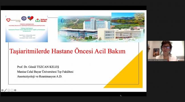 """EÜ'den """"Türkiye-Azerbaycan Hastane Öncesi Acil Bakımda Resüsitasyon Sempozyumu"""""""