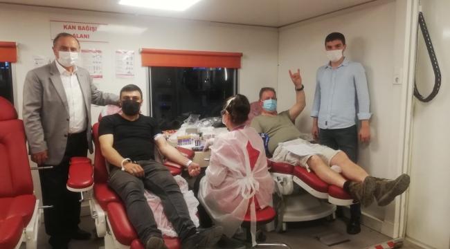 MHP Aliağa İlçe Teşkilatından Kan Bağışı
