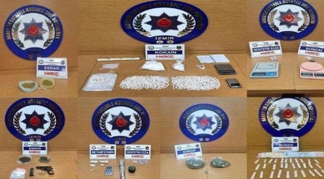 Uyuşturucu operasyonlarına 15 tutuklama