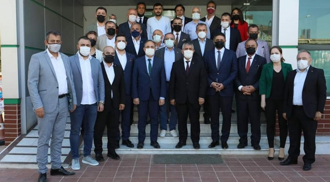Ak Parti Ve MHP İl başkanları Aliağa'da Bir Dizi Ziyaret Gerçekleştirdi.