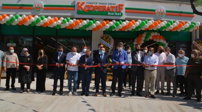 Aliağa'da Tarım Market'in ilk şubesi açıldı