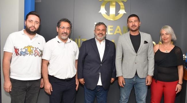 Belediye Başkanı Fatih Gürbüz 'den İMEAK DTO Aliağa Şubesine Ziyaret