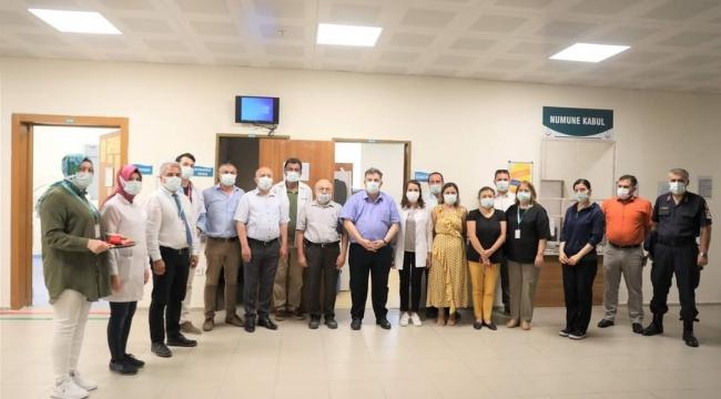 Kınık Devlet Hastanesi Kan Transfüzyon Merkezi Açıldı