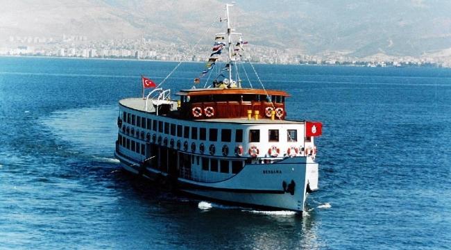 Nostaljik Bergama Vapuru Körfez turlarına hazır