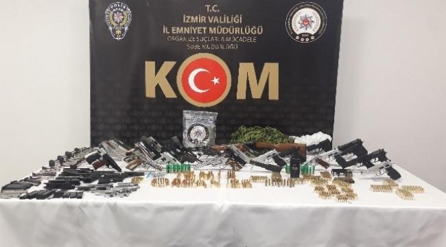yasa dışı silah ticareti operasyonu: 29 gözaltı kararı