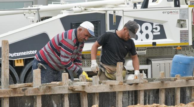 Yeni Mahalle Parkı'nda Çalışmalar Hızla İlerliyor