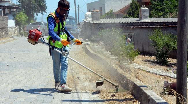 Aliağa Belediyesi Ekipleri Bozköy'de