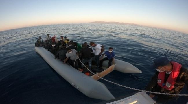 Yunanistan'ın geri ittiği 31 düzensiz göçmen kurtarıldı