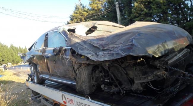 Aliağa'da Trafik Kazası : 1ölü 2 yaralı