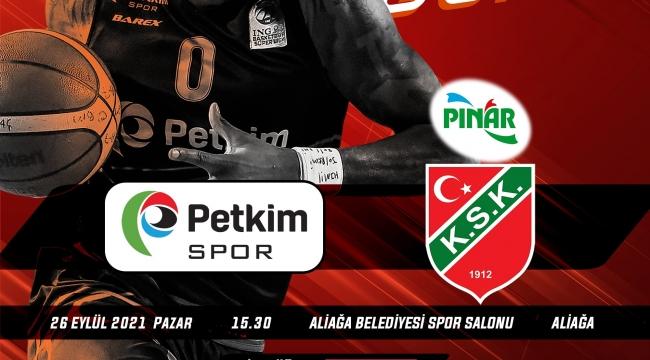Aliağa Petkim Spor, Pınar Karşıyaka'yı Konuk Ediyor