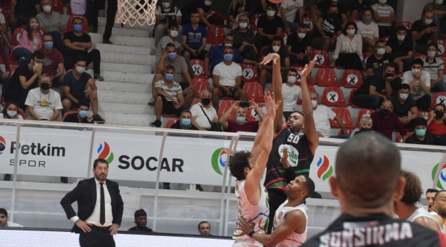 Basketbol Süper Ligi: Aliağa Petkim Spor: 59 – Pınar Karşıyaka : 92