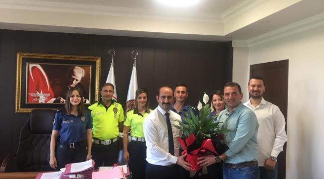 15 Temmuz gazisi Başsavcı İmir'e anlamlı ziyaret