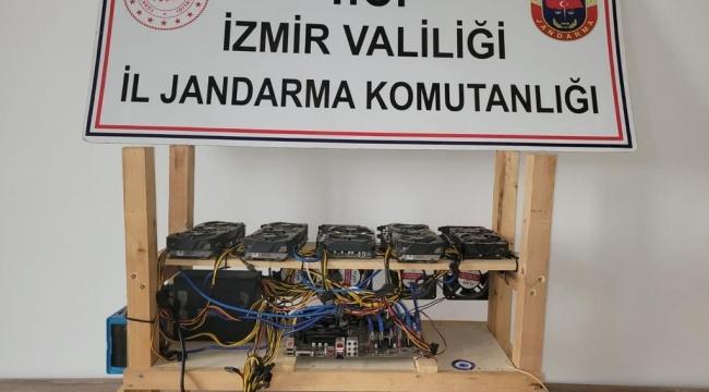 kripto para üretim makinesi operasyonu